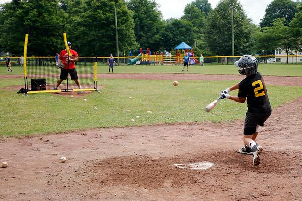 Little League Practice at Springside Park-070320