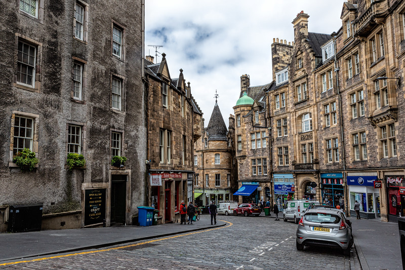 Cockburn Street, Old Town Edinburgh