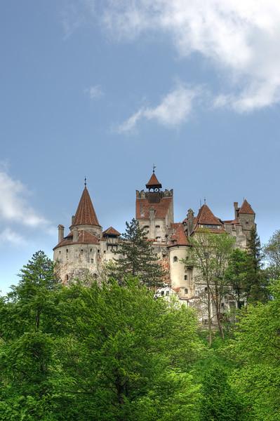 Count Dracula's Bran Castle in Romania