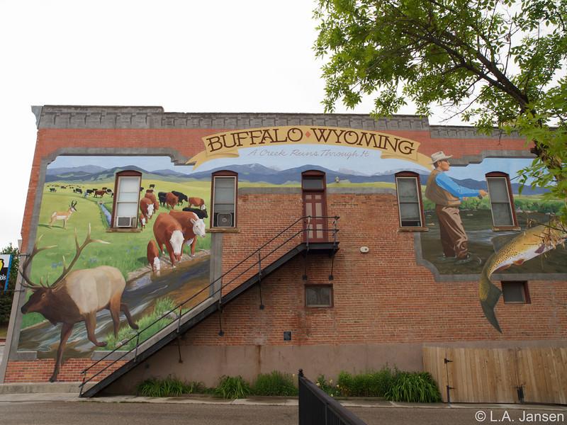 Mural, Buffalo, Wyoming