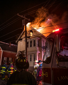 Lawrence, MA 5th Alarm - Saratoga & Bennington Sts - 4/4/21