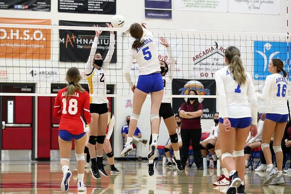 2020 Arcadia HS Varsity Volleyball
