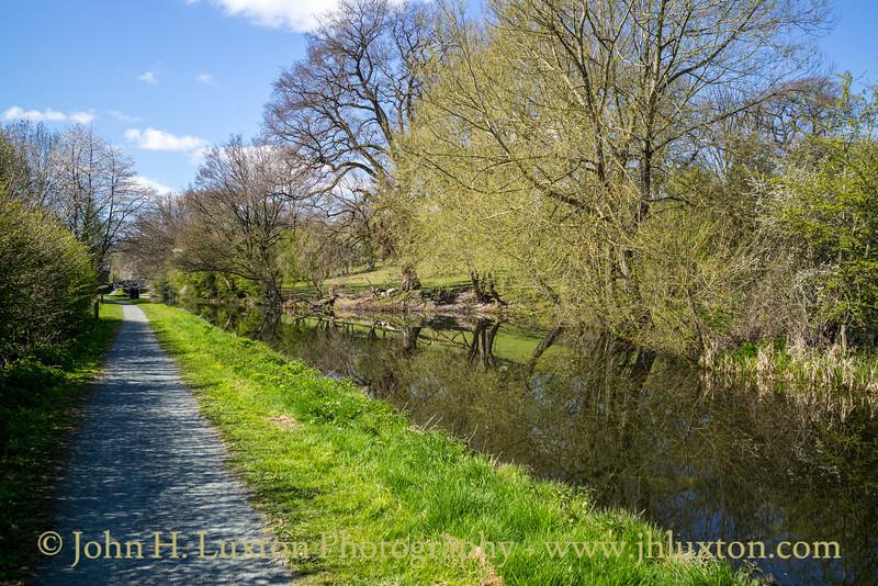 Montgomery Canal: Gallowstree Bridge 117 to  Belan Locks - April 15, 2021
