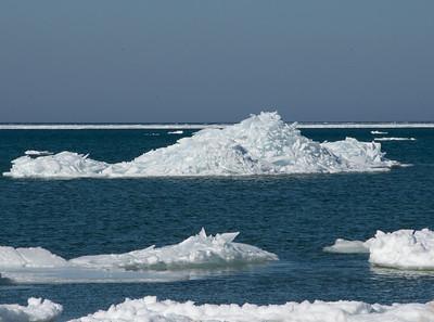 Birthday get-away Lake Huron Ice