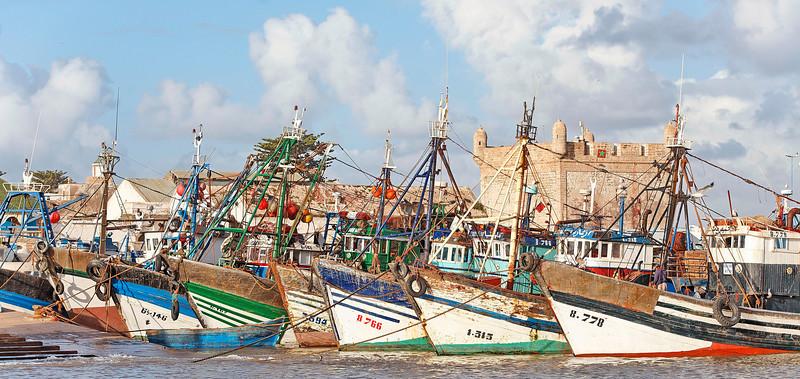Le port d'Essaouira -coté mer