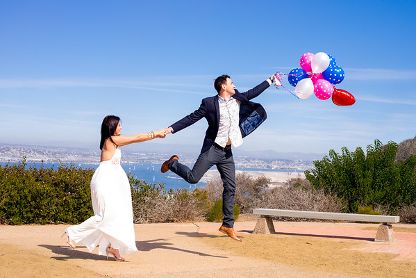 2016/10/22 Cabrillo National Monument Engagement Shoot