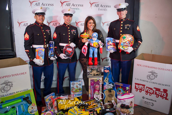 All Access Events & Love Life by J. Rod Toy Drive for Toys For Tots