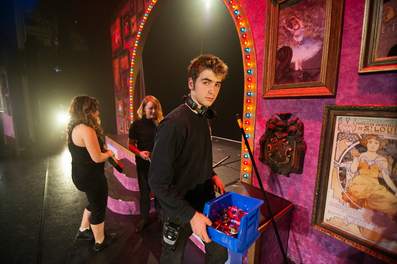 The Cal Poly Theatre and Dance Department presents Black Cat Cabaret. May. 2014. Photo by Ian Billings