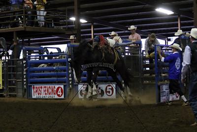 Friday Night Bronc Riding