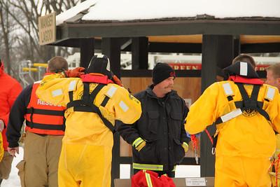Ice Rescue Training 2-24-2011