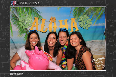 Justin Siena Welcome Back Dance - August 16, 2019