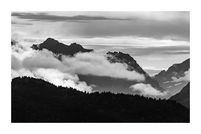 B/W Panoramas and Landscapes