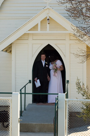 Rob and Amanda's wedding, Tamworth
