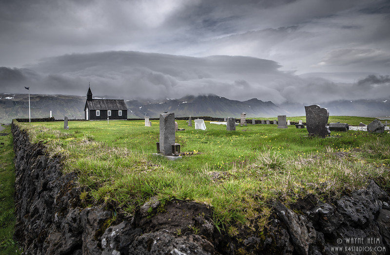 Church and Cemetery    Photography by Wayne Heim