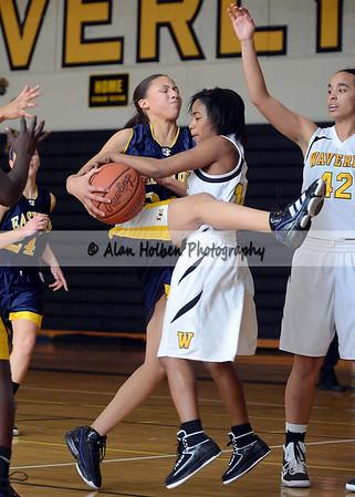 Girls Varsity Basketball - Eastern at Waverly - Jan 4