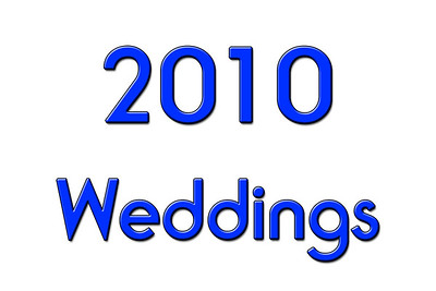 WEDDINGS 2010