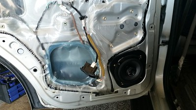 2001 Toyota 4Runner SR5 Rear Door Speaker Installation - USA
