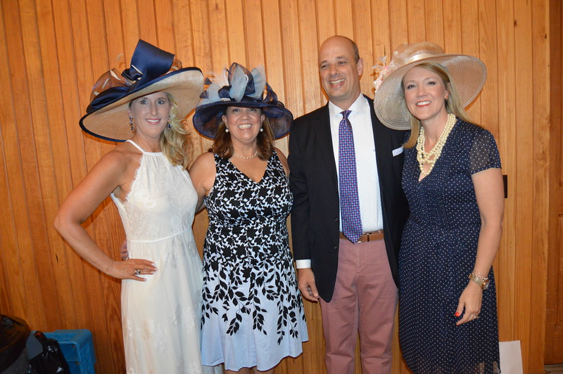 Tammy Stephens (Co-chair) Carol Johnston (Co-chair), Greg Hall, Frisa Hall (Honoree) 6.JPG