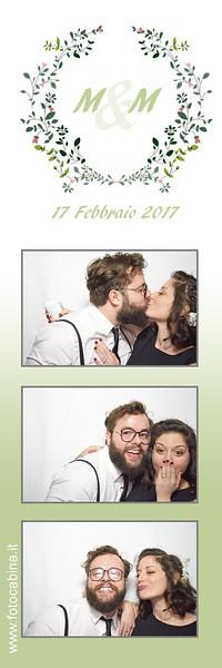 M & M - Photobooth matrimonio con fotocabina  17.02.2017