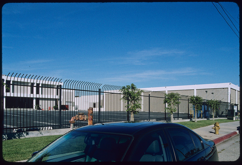 Industrial and commercial sites in Playa Vista, Los Angeles, 2004