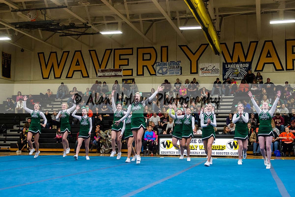 Cheer league meet at Waverly - Williamston