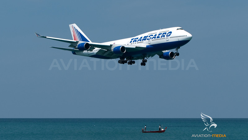 Transaero Boeing B747-400 EI-XLC