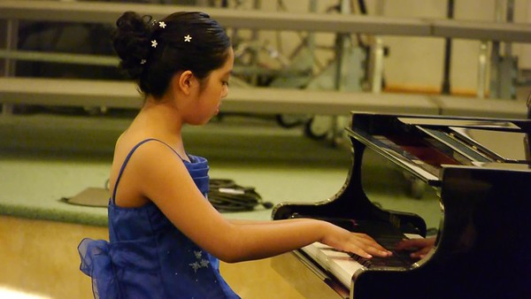 Liesl's Piano Recital 2012