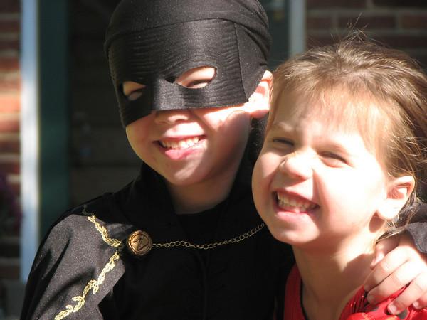 Kids Dress for Holloween Parade