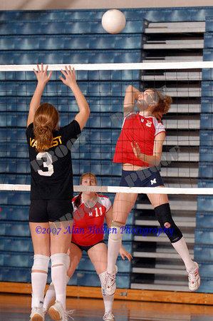 Girls JV Volleyball - Lumen Christi at Mason - Feb 22