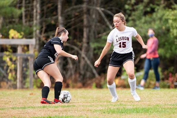 Girls Soccer:  Hall-Dale vs Lisbon