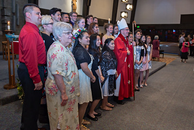 Confirmation with Archbishop Peter Sartain- April 5, 2017