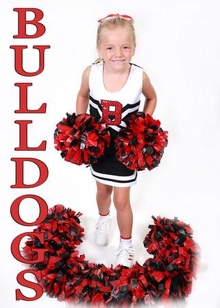 Candice Bulldogs Cheerleaders 2010