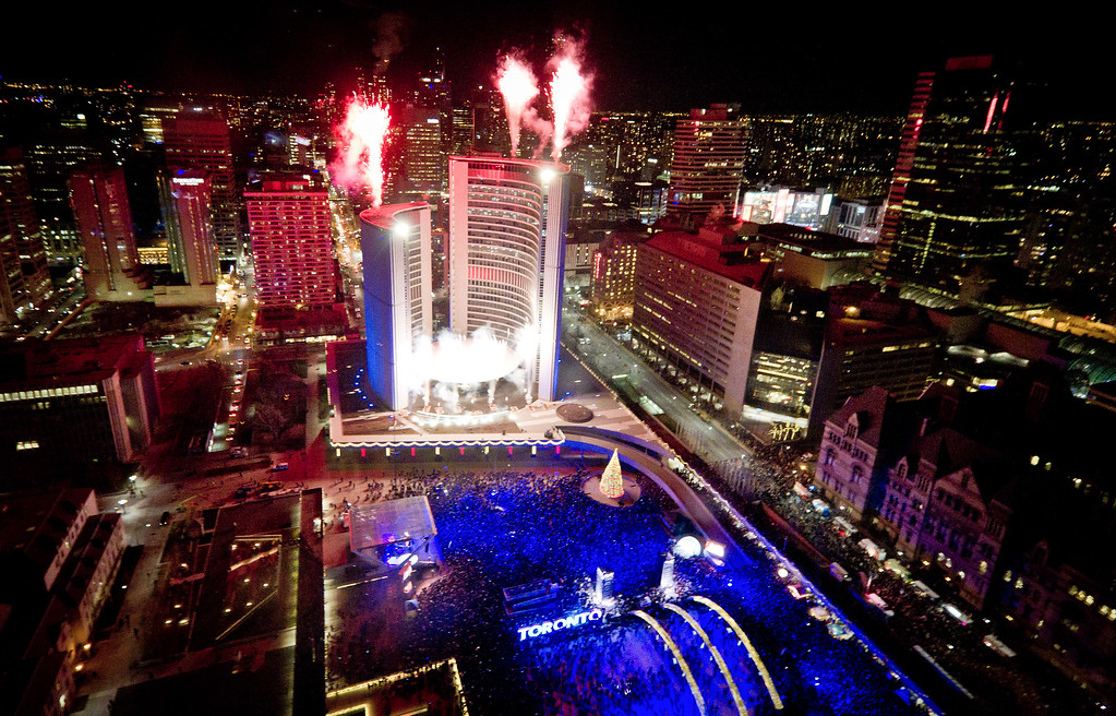Cavalcade of Lights - Christmas in Toronto