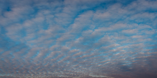 Panorama Photo Of White Clouds On A Blue Sky | Hannover, Germany | Nature Photography