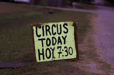 Luna Bros. Circus Wynnewood OK 10-2-15