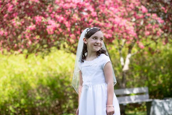 Reuben Family 2021 - Brielle first communion