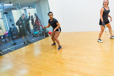 2015-10-17 Women's Singles - Open Pool Play T. J. Baumbaugh over Arrisa Hanson