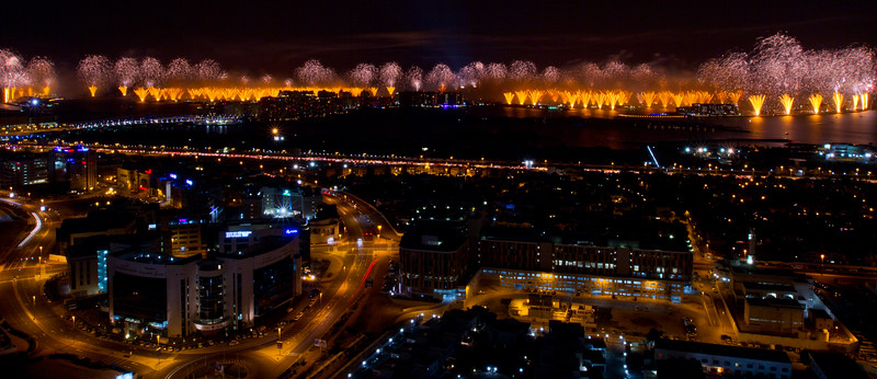 Dubai World Record 2014 - Grucci Fireworks