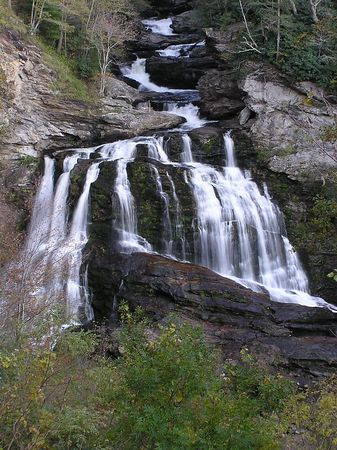 Cullasaja Falls, Highlands, Western North Carolina