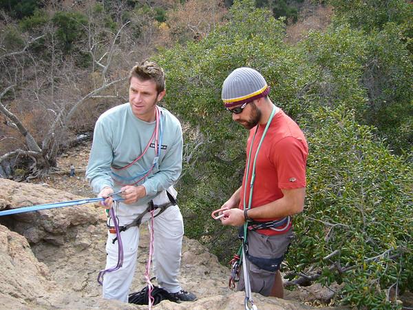 Climbing in Malibu, CA