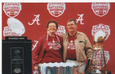 Virginia Hayes Conrad ('68) and her husband Gene