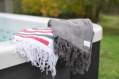 Hamam-pyyhkeet viltit