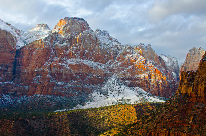 Magnificence Zion National Park, Utah December 2012
