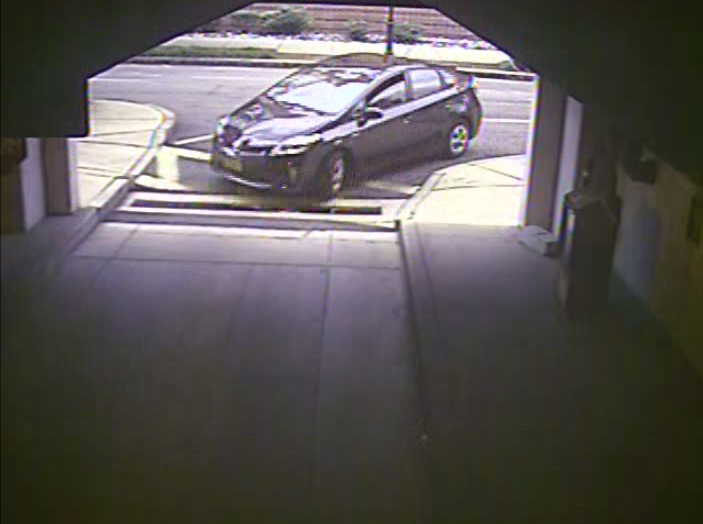 . In this handout frame grab from the Washington Navy Yard provided by the FBI on September 25, 2013, Aaron Alexis rental car enters Washington Navy Yard Parking Garage #28 at 7:53 a.m. on September 16, 2013 September 16, 2013 in Washington, DC. (Photo by FBI via Getty Images)