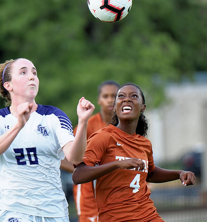 University of Texas Soccer vs. Stephen F. Austin 9.2.2018