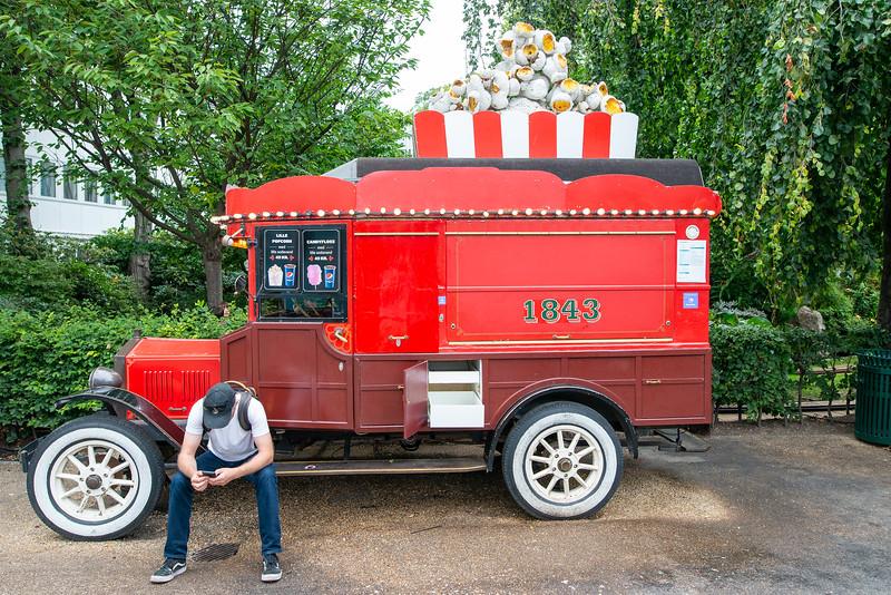 Tivoli Gardens - Popcorn Cart