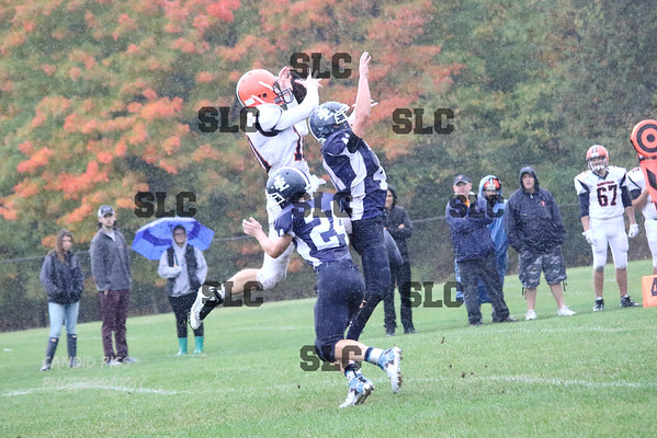 RAINY VARSITY FOOTBALL SLC LOOSE TO POTSDAM  10/9/2016