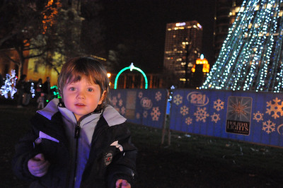 Cathedral Square Park Lights 2011