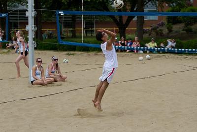 20110626 Evan's Sand Volleyball Tournament