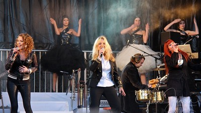 Anne Linnet & Band (DK) Concert Rådhuspladsen